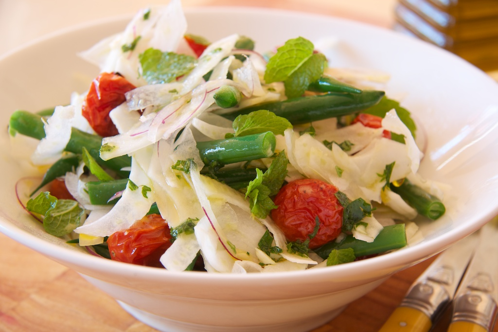 Fennel and Bean Salad