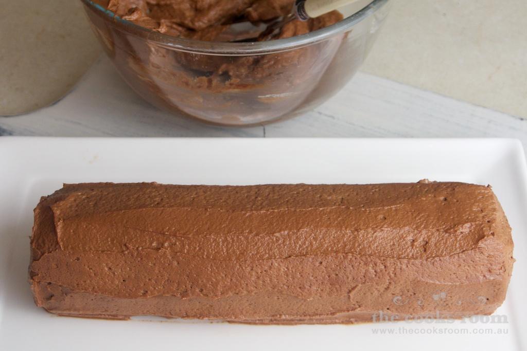 CHOCOLATE RIPPLE LOG