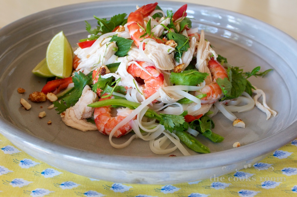 Chicken & Prawn Salad