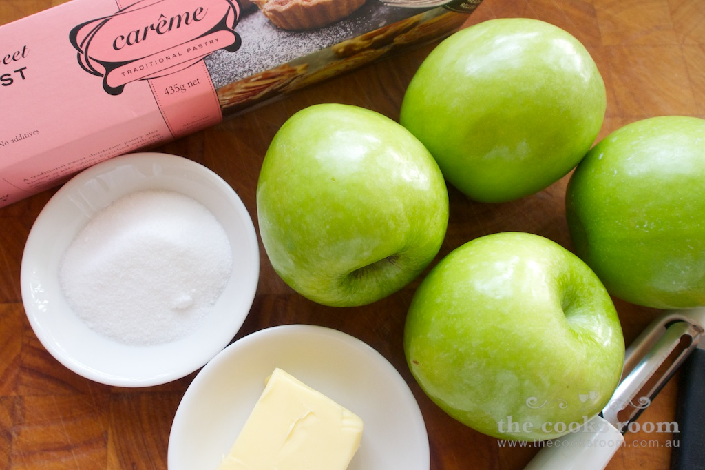 Apple tart ingredients