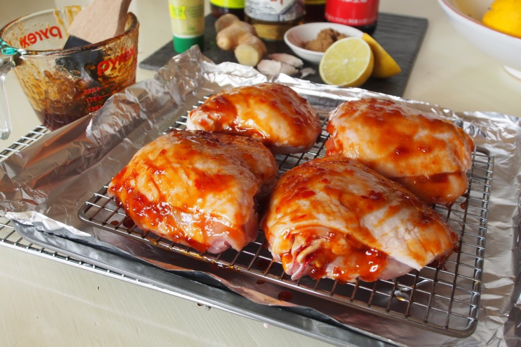 Sweet Chilli chicken Glaze
